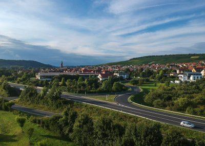 Eibelstadt - Ortseinfahrt von Sommerhausen