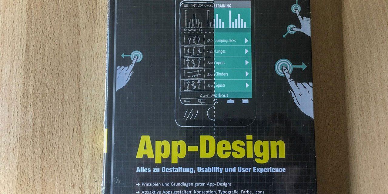 "Buch ""APP-Design"" aus dem Rheinwerk-Verlag"