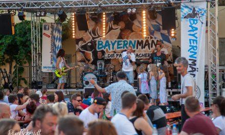 Weinfest mit Bayernmän