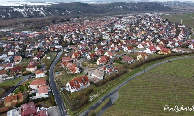 Eibelstadt von Oben